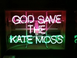 God save the Kate Moss