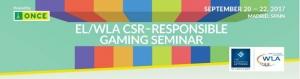 EL/WLA CSR Responsible Gaming Seminar